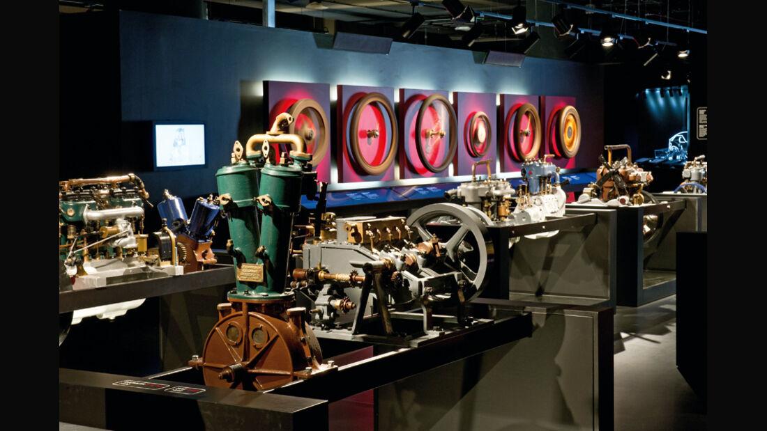 Biscaretti-Museum Entwicklung des Rades
