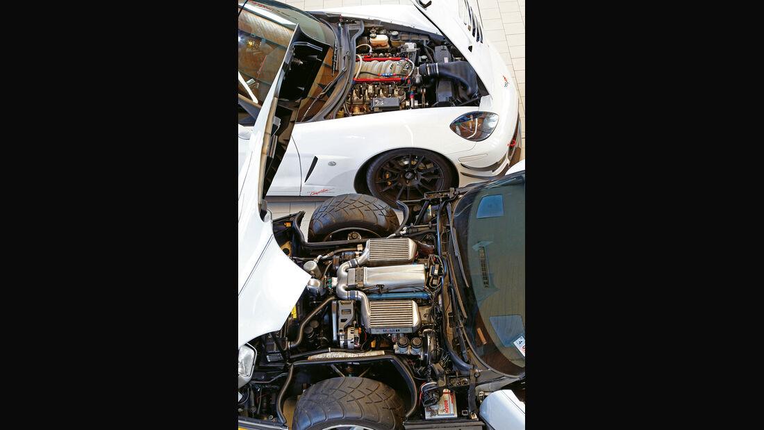 Biturbo-Corvette, Callaway-Z06.RR, Motor