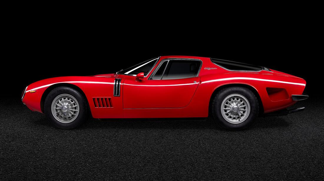 Bizzarrini GT Strada 5300, 1968, Designer Giotto Bizzarrini, Leihgeber SCUDERIA TREDICI MONACI, Foto Oliver Sold.jpg