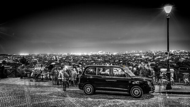 Black Cab LEVC TX eCity, Exterieur