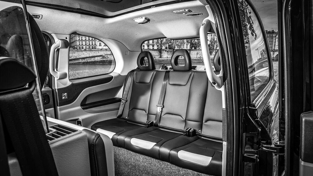 Black Cab LEVC TX eCity, Interieur
