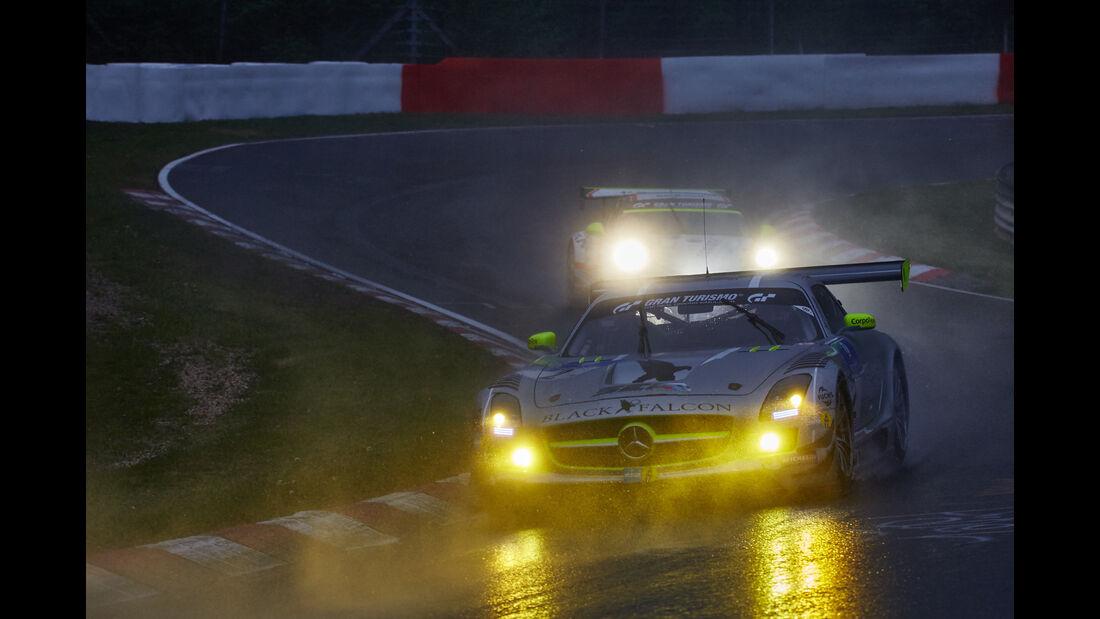 Black Falcon Mercedes SLS - 24h Nürburgring  - Donnerstag - 1. Qualifying - 14.5.2015