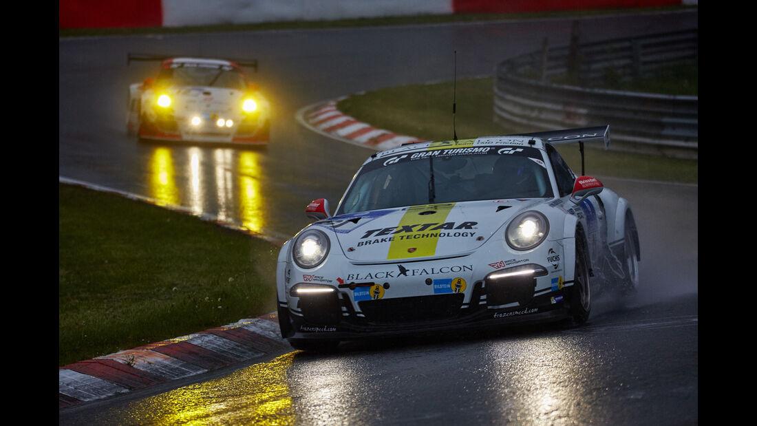 Black Falcon Porsche - 24h Nürburgring  - Donnerstag - 1. Qualifying - 14.5.2015