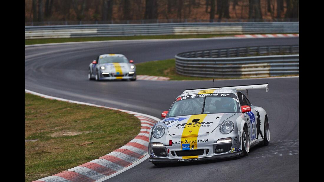 Black Falcon Porsche - 24h Qualirennen - Nürburgring Nordschleife - 06. April 2014