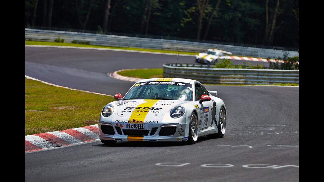 Black Falcon Porsche  - VLN Nürburgring - 6. Lauf - 2. August 2014