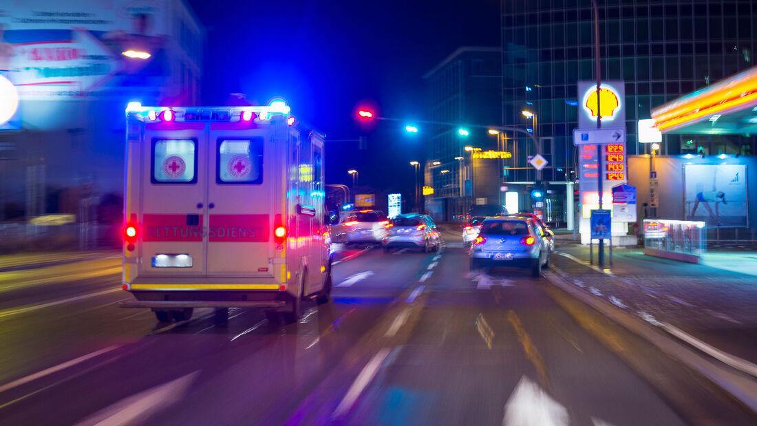 Blaulicht Rettungswagen