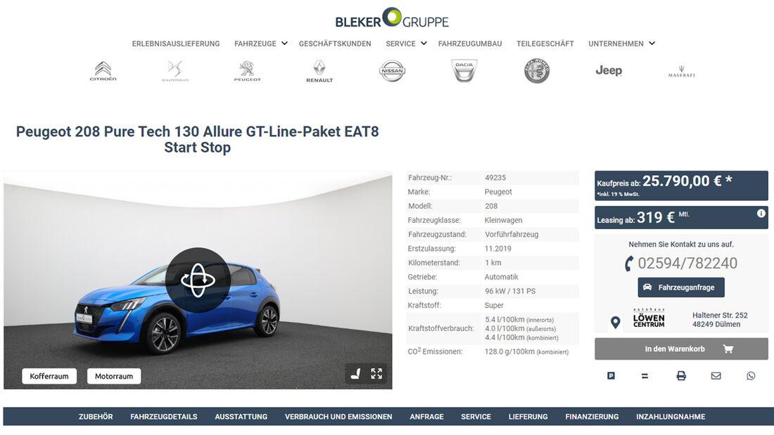 Bleker Group Website, Aktuelles, ams0320