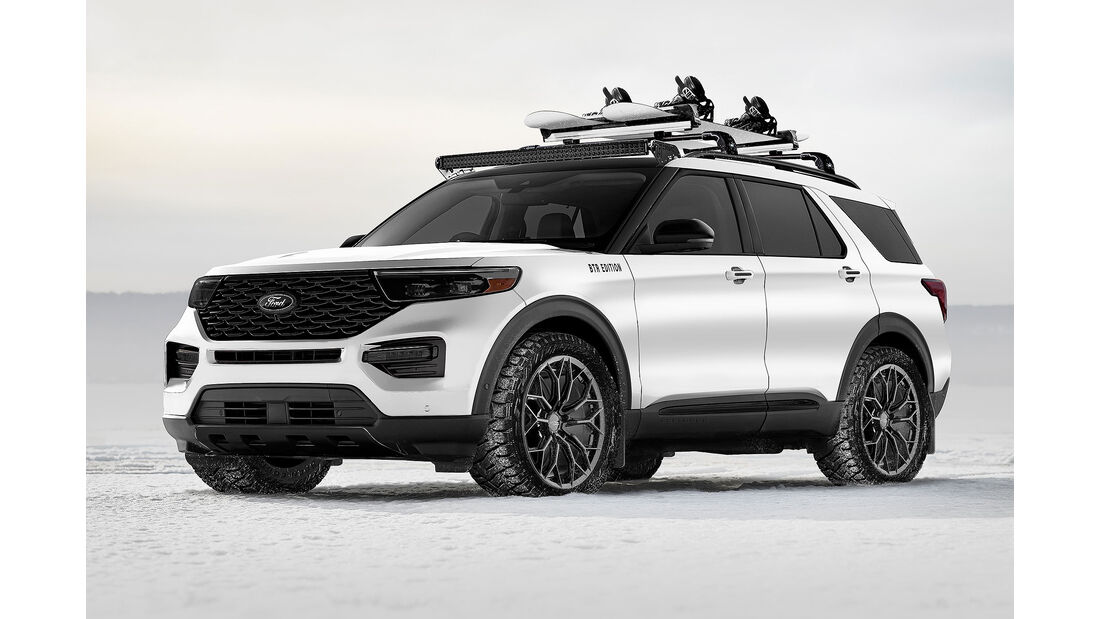 Blood Type Racing Ford Explorer Limited Hybrid