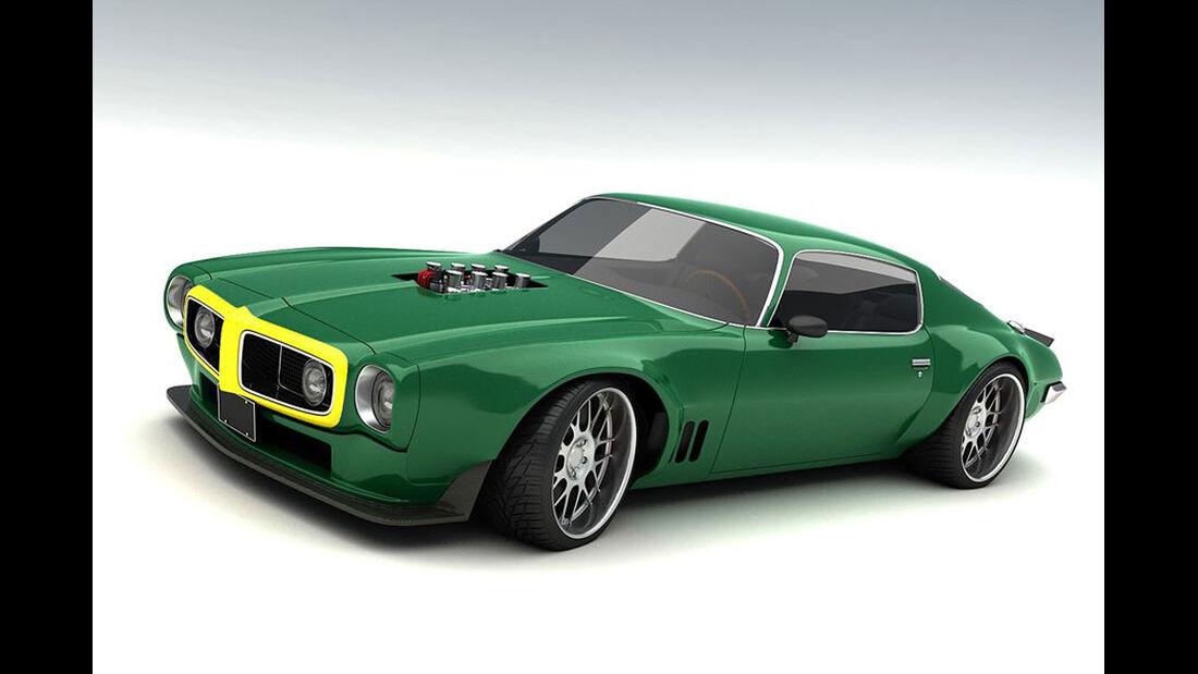 Bo Zolland Design Chevrolet Camaro Rennwagen