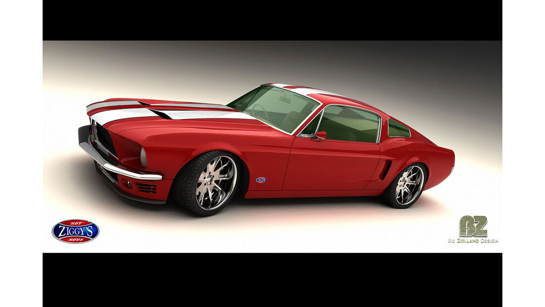 Bo Zolland Design Ford Mustang
