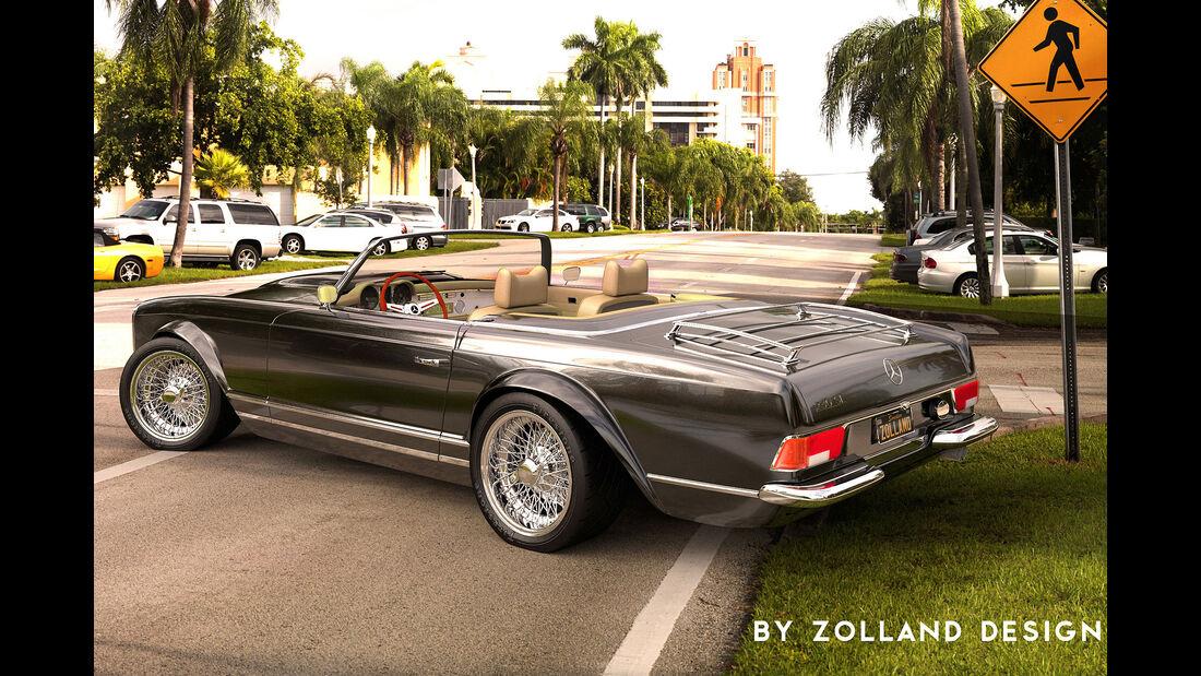 Bo Zolland Design Mercedes-Benz 230SL