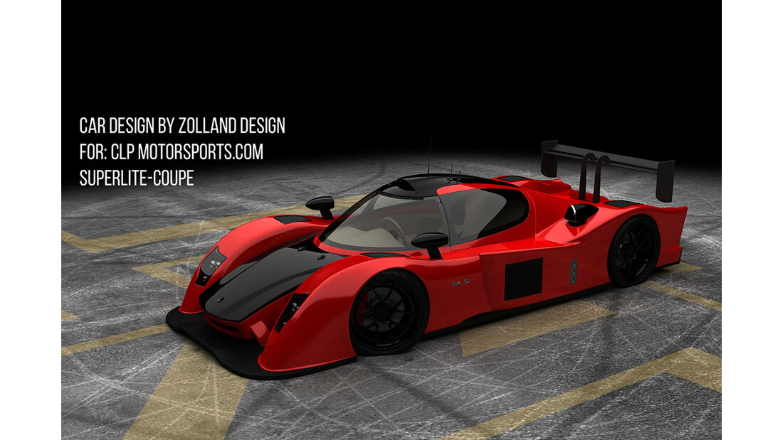 Bo Zolland Design SLS Supercar for CLP motorsports