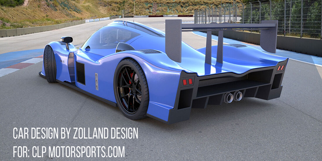 Bo Zolland Design SLS Supercar for CLP motorsports