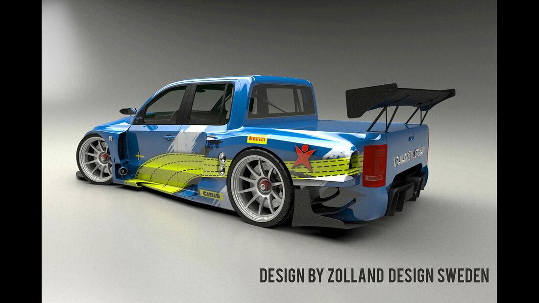 Bo Zolland Design VW Amarok GT3 Concept