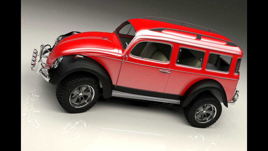 Bo Zolland Design Volkswagen Beetle 4x4