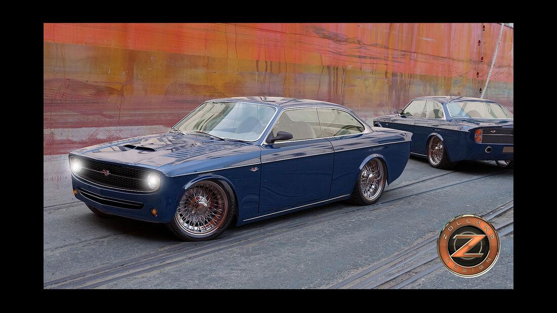 Bo Zolland Design Volvo 142 Custom