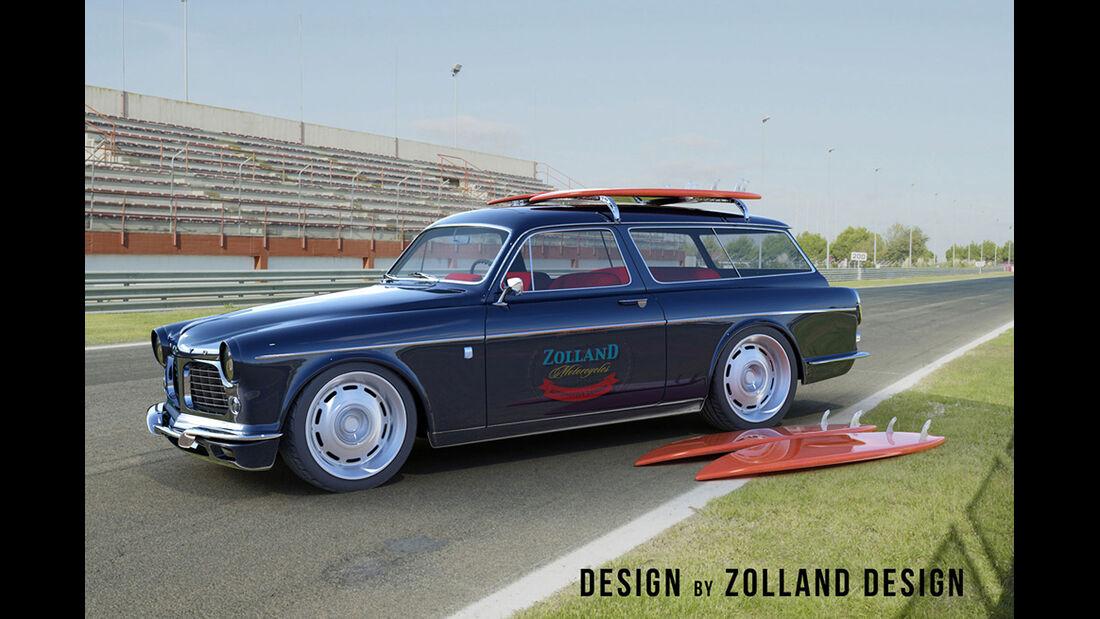 Bo Zolland Design Volvo Amazon Custom Wagon