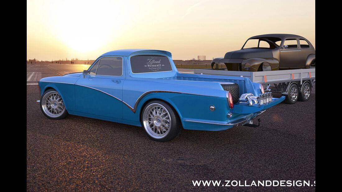 Bo Zolland Design Volvo Amazon Pickup