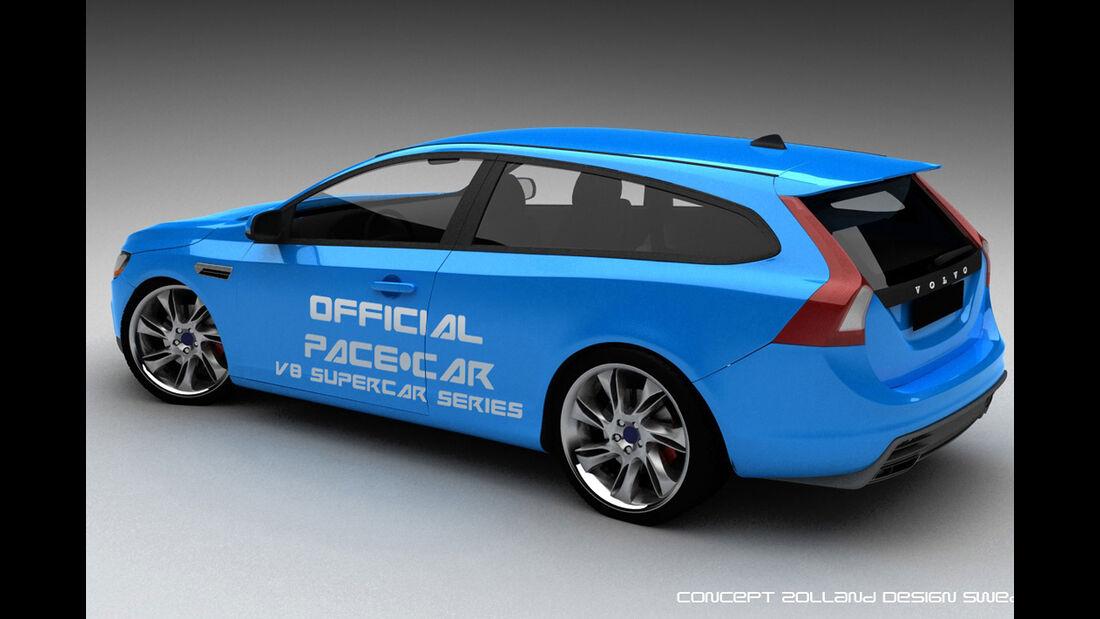 Bo Zolland Design Volvo V60 V8 Two Door Estate Concept