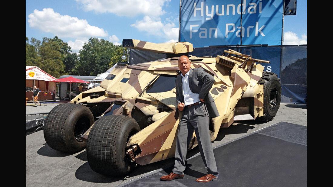 Bodyguard, Michael Kuhr, Batmobil