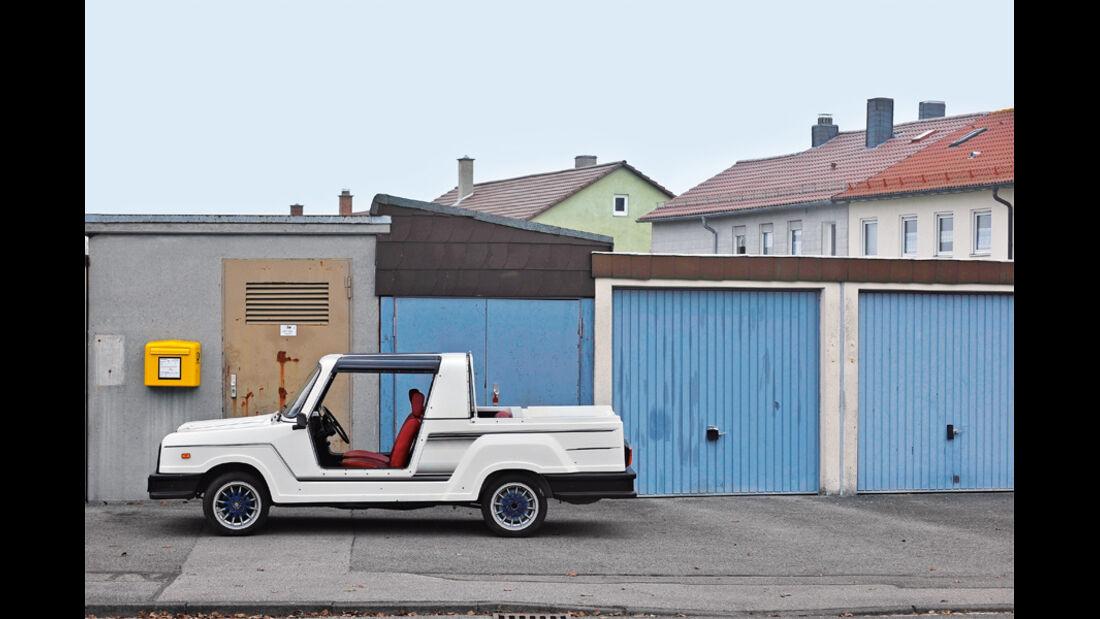 Bohse Euro-Star Strandwagen, Seitenansicht