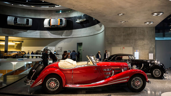 Bonhams Auktion im Mercedes-Benz Museum Stuttgart