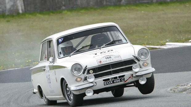 Bonhams, Chichester Goodwood, 1965 Ford Lotus Cortina MkI Competition Saloon