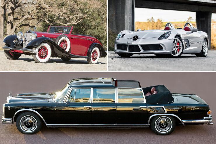 mercedes auktion von bonhams im museum auto motor und sport. Black Bedroom Furniture Sets. Home Design Ideas