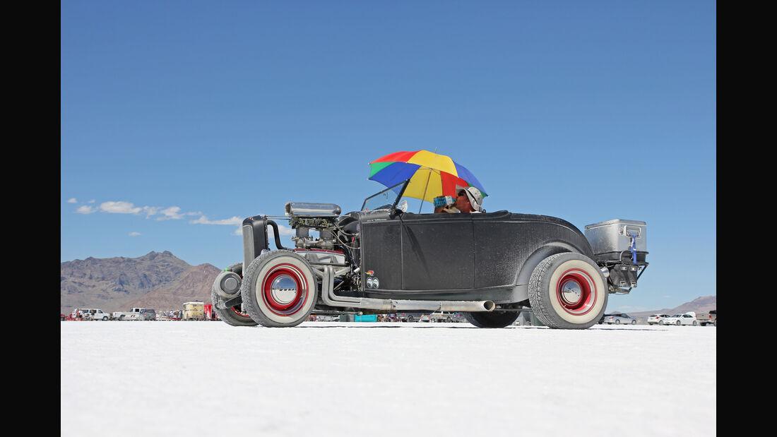 Bonneville Speed Week, Salzwüste, Impression, Geschwindigkeit, Rekordfahrten