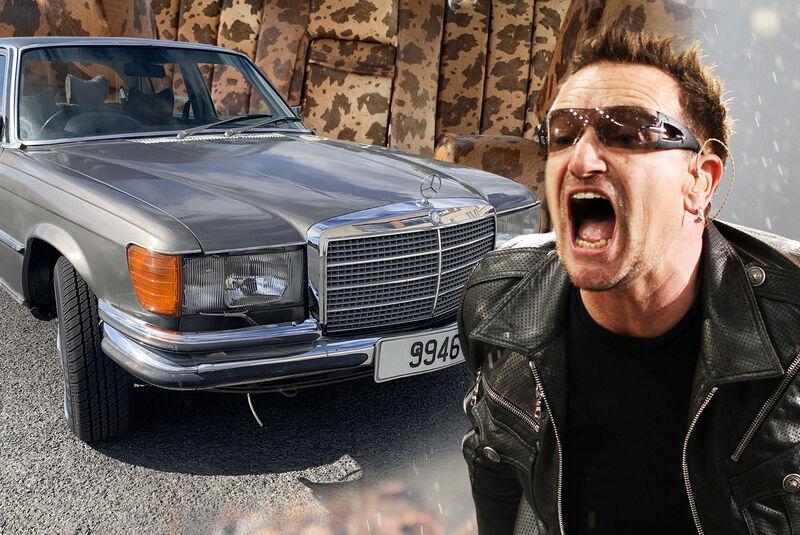 Bono U2 Mercedes W 123 Auktion