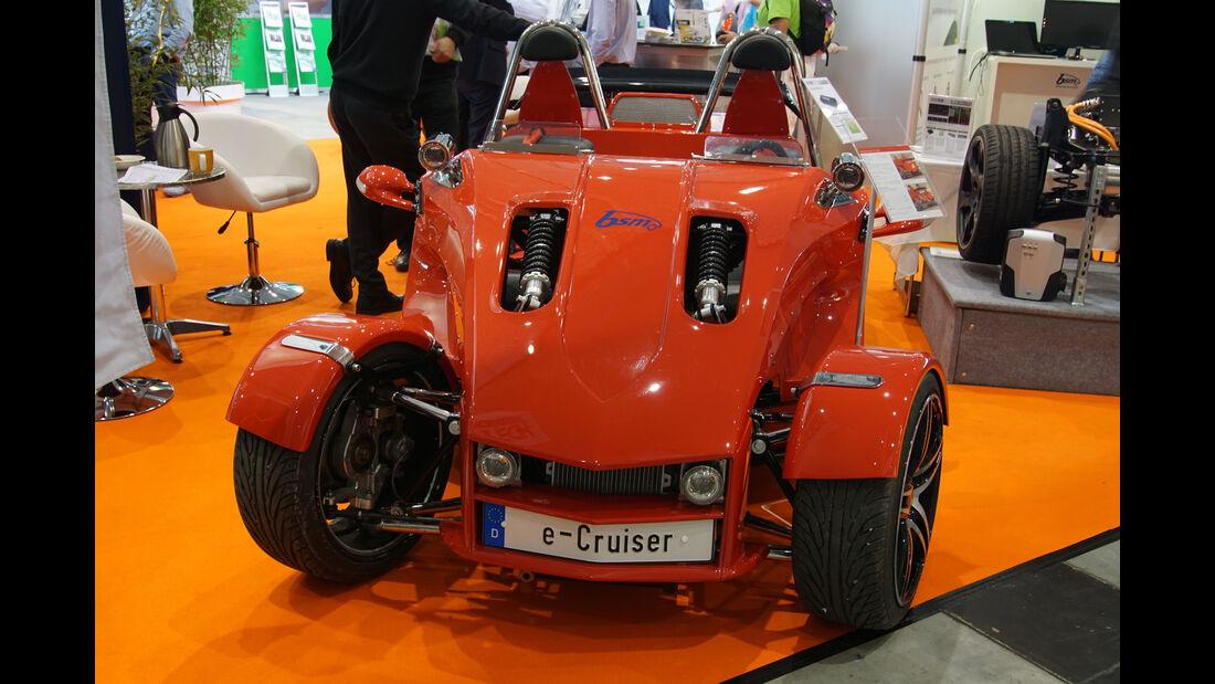Boom Trikes e-Cruiser - Electric Vehicle Symposium 2017 - Stuttgart - Messe - EVS30