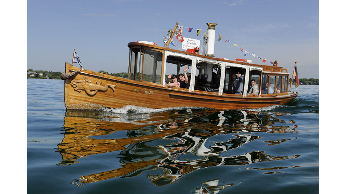 Boot bei der Klassikwelt Bodensee 2010