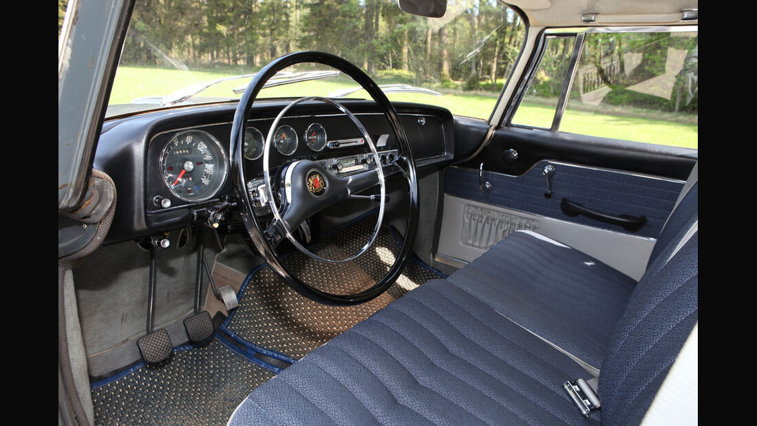 Borgward 2,3 Liter, Cockpit, Lenkrad