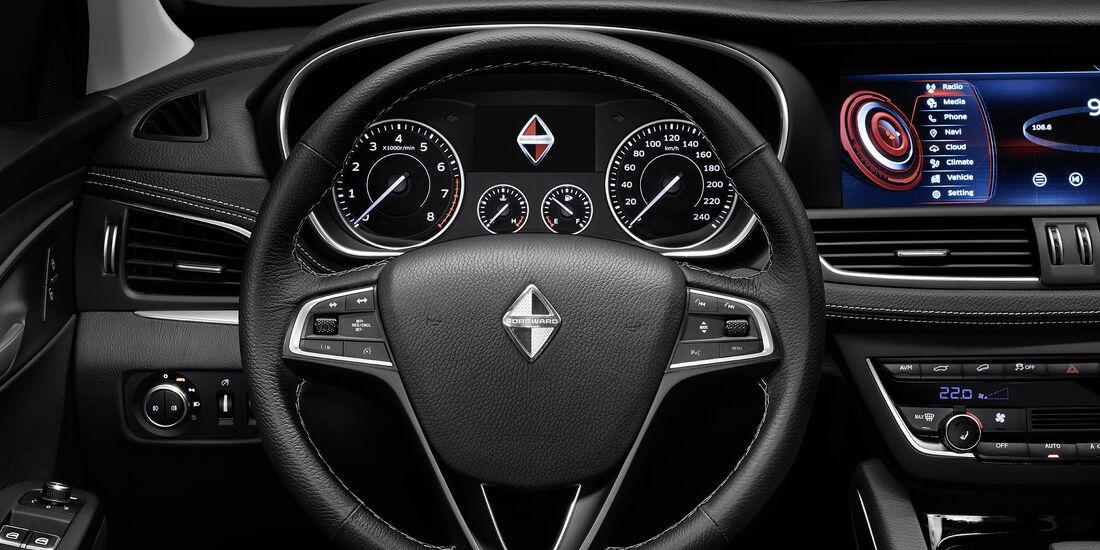 Borgward BX 7 im Vergleich mit Kia Sportage