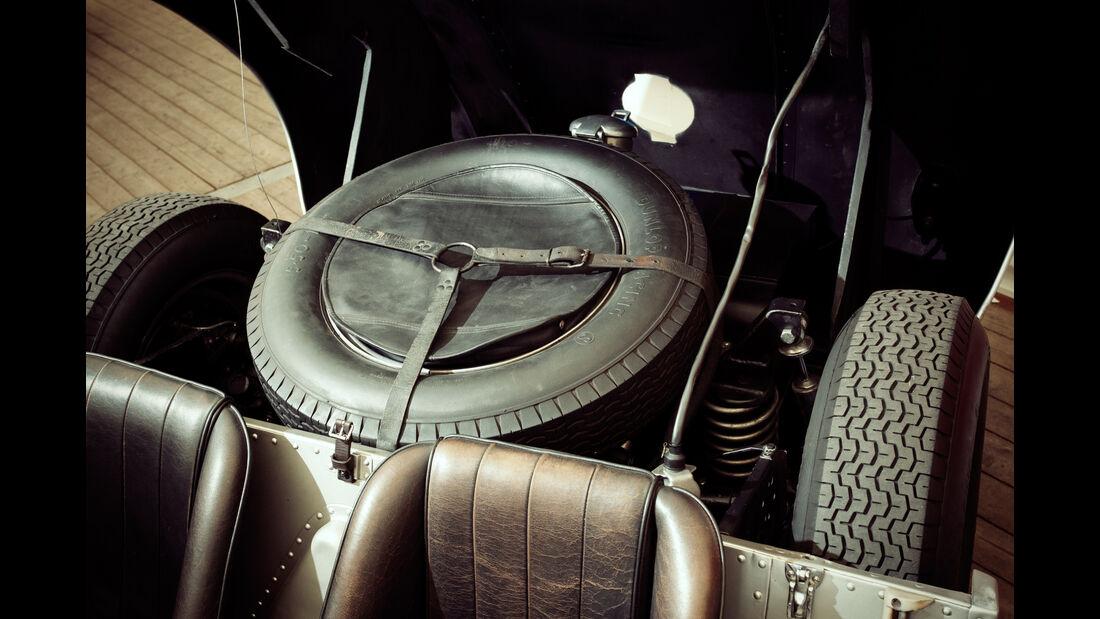 Borgward RS 1500, Ersatzrad