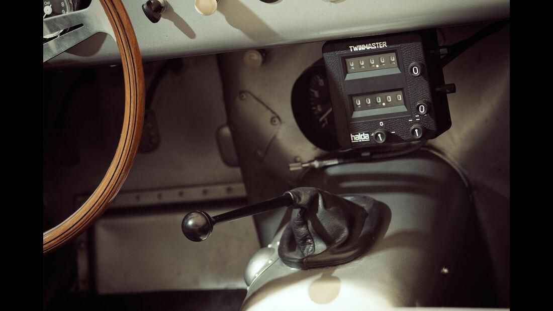 Borgward RS 1500, Schalthebel
