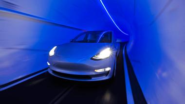 Boring Company Autonome Tesla