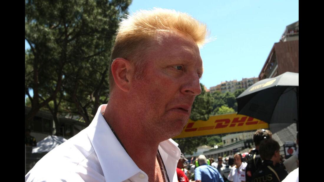 Boris Becker GP Monaco 2011