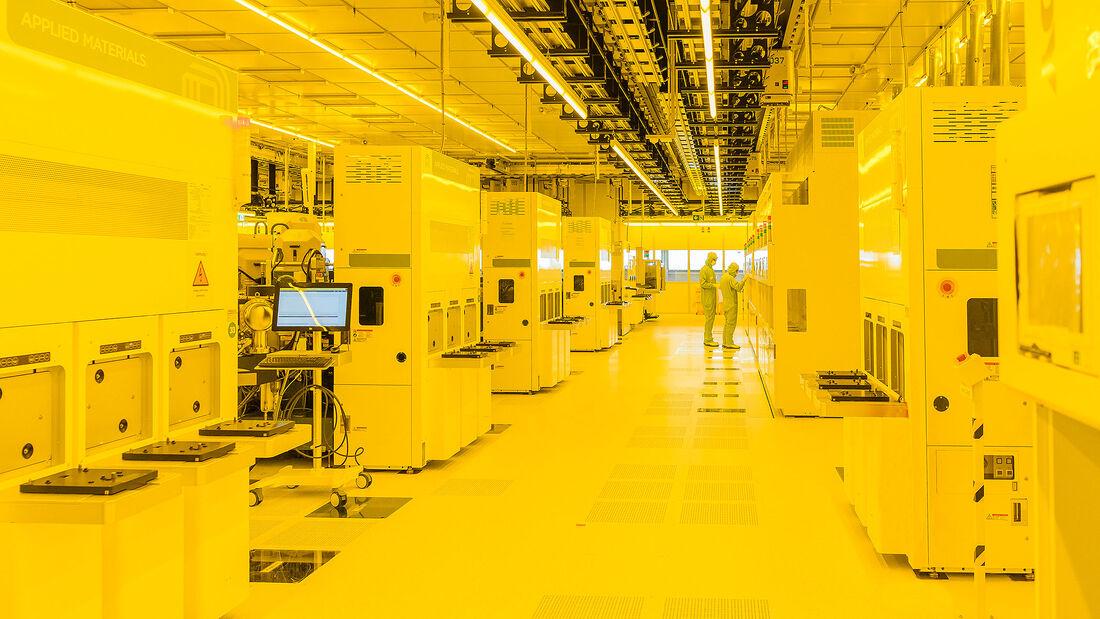 Bosch Chipfabrik Dresden Mikrochip