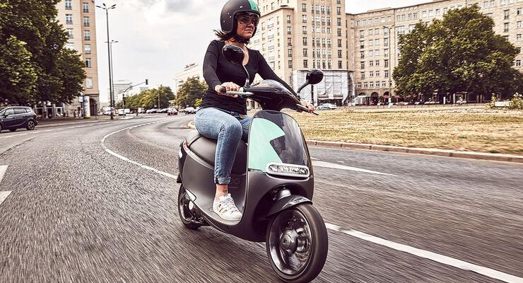 Bosch Coup E-Roller-Sharing