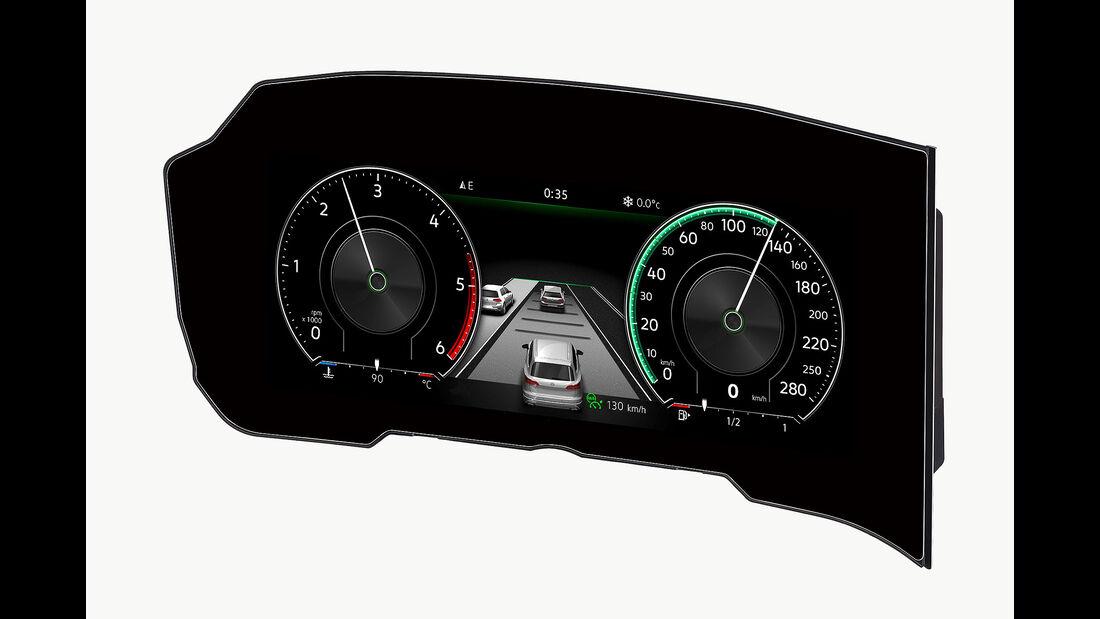 Bosch Curved Display gebogenes Kombiinstrument