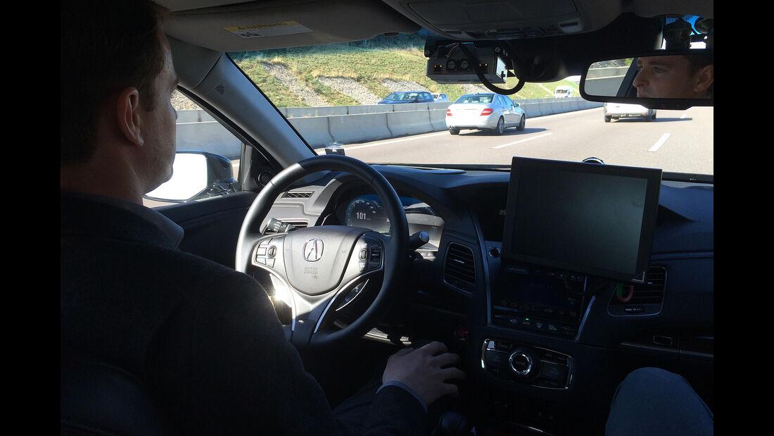 Bosch Highway Assist, Autopilot, Autonomes Fahren