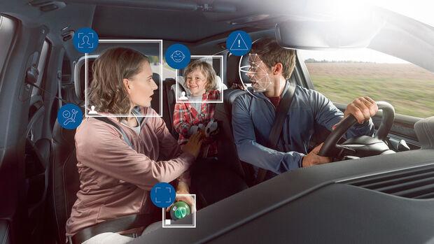 Bosch Innenraumsensierung