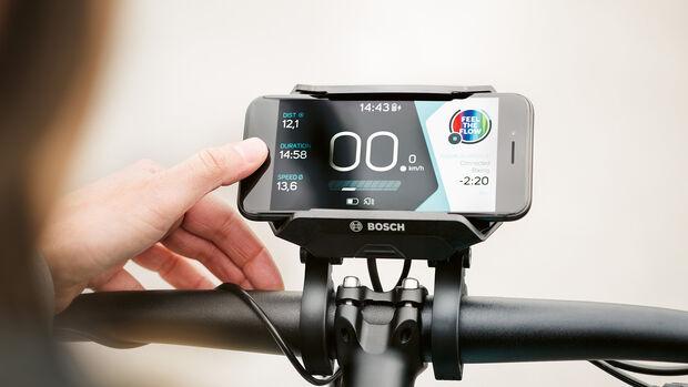 Bosch Mobilitätsspecial, Advertorial, E-Bike Smartphone-Hub