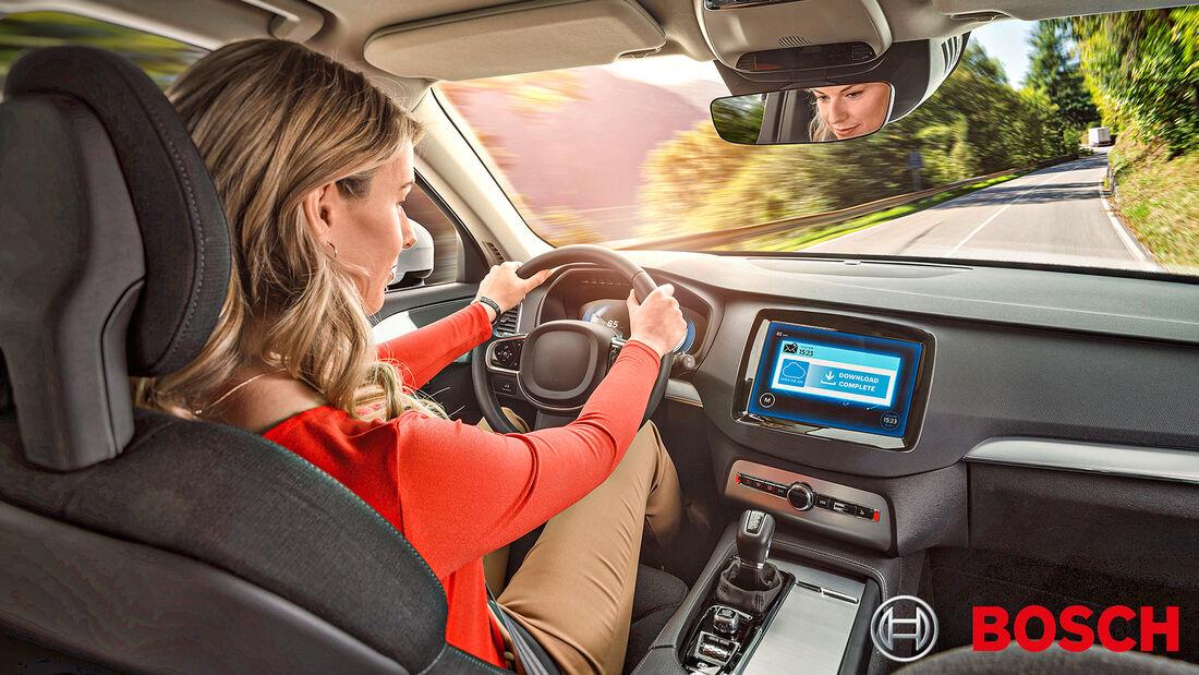 Bosch Technik erklärt, kabellose Software Updates