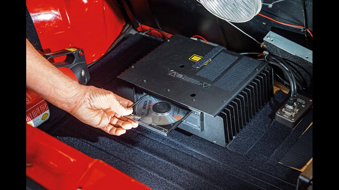 Bosch Travel Pilot, Navigationssystem, CD, Kofferraum