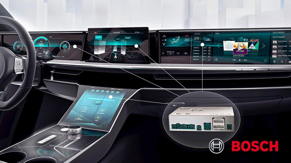 Bosch, Zentralrechner