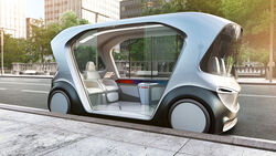 Bosch autonomes Shuttle CES 2019