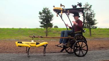 Boston Dynamics Roboterhund Spot