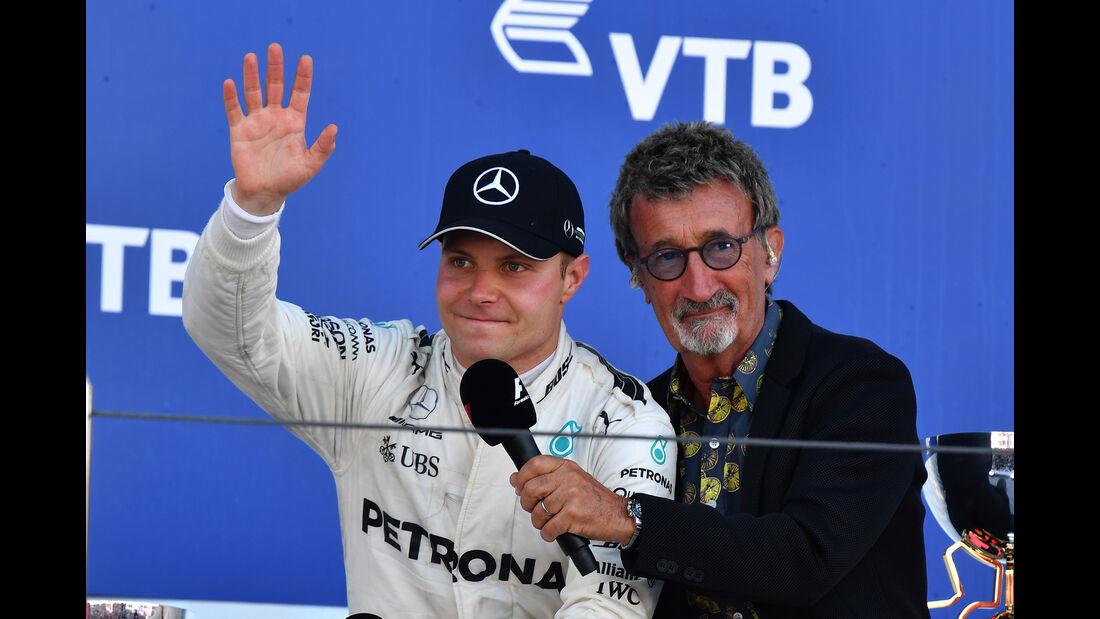 Bottas & Eddie Jordan - GP Russland 2017